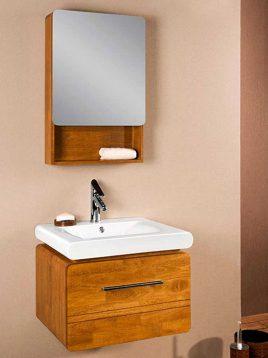 Lotus Bathroom vanities SD 6009 model1 268x358 - ست کابینت روشویی لوتوس و آینه مدل SD-6009