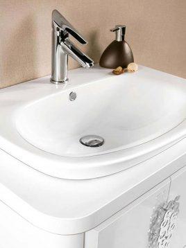 Lotus Bathroom vanities Sprit model2 268x358 - ست روشویی کابینت و آینه حمام مدل اسپریت