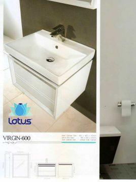 Lotus Bathroom vanities Virgin600 model2 268x358 - ست روشویی کابینت و آینه حمام مدل ویرجین۶۰۰