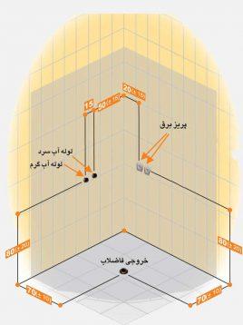 Persianstandard Enclosures Stalls Adonis2 268x358 - کابین سونا آدونیس