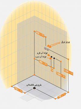 Persianstandard Enclosures Stalls Adoniya2 268x358 - کابین سونا آدونیا