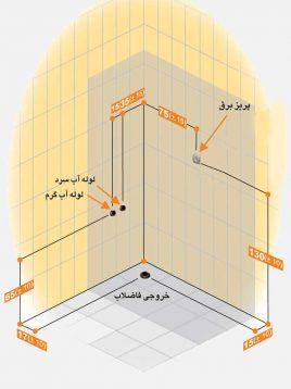 Persianstandard Enclosures Stalls Banita2 268x358 - کابین سونا بنیتا