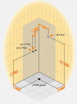 Persianstandard Enclosures Stalls Sofiya2 268x358 - کابین سونا سوفیا