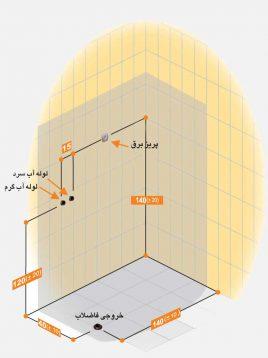 Persianstandard Shower Stalls Enclosures Adona2 268x358 - کابین سونا آدنا
