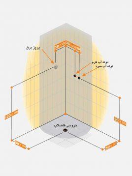 Persianstandard Shower Stalls Enclosures Arotin2 268x358 - کابین دوش و سونا آروتین