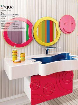 Samsangan Bathroom vanities Aqua model1 268x358 - روشویی لوکس مدل آکوا