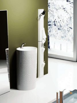 Samsangan Bathroom vanities Florence model2 268x358 - ست روشویی لوکس مدل فلورانس