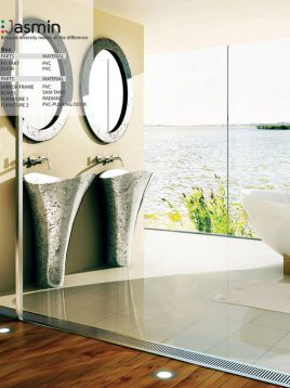 Samsangan Bathroom vanities Jasmin model1 268x358 - روشویی لوکس مدل جاسمین