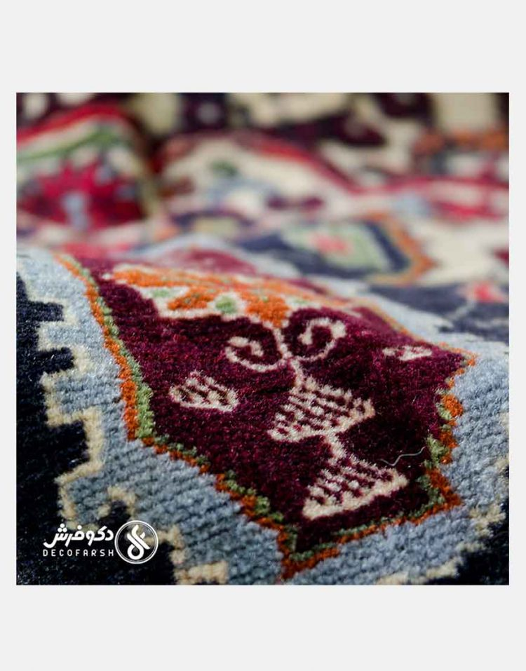 گلیم فرش دستباف گل برجسته دکو فرش