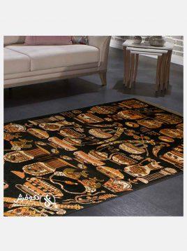 قالیچه دستی کاسه کوزه دکو فرش