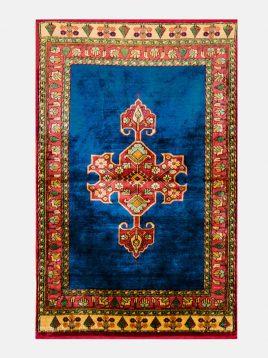 قالیچه ابریشم هریس دکو فرش