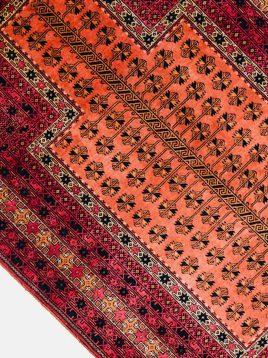 قالیچه دستباف تمام ابریشم محراب دکو فرش