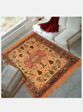 قالیچه ابریشم درختی دکو فرش