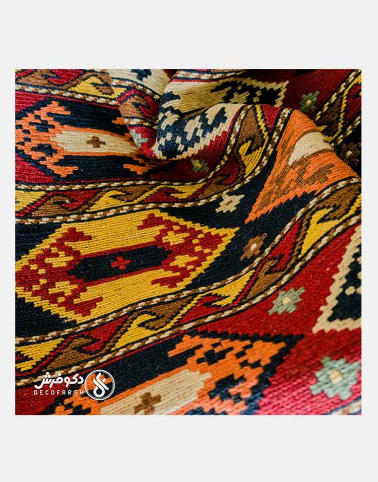 گلیم دستباف پشمی دکو فرش