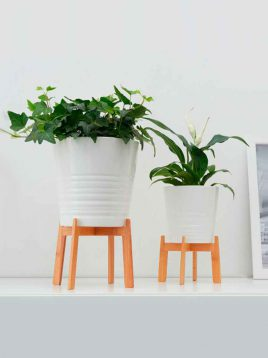 ikea bamboo plant stands 1 268x358 - استند گلدان بامبو ایکیا