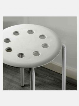 ikea metal stools 1 268x358 - چارپایه فلزی ایکیا