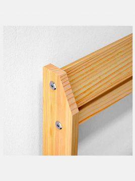 ikea model neiden wooden Simple bed 1 268x358 - تخت خواب ساده چوبی ایکیا مدل نیدن