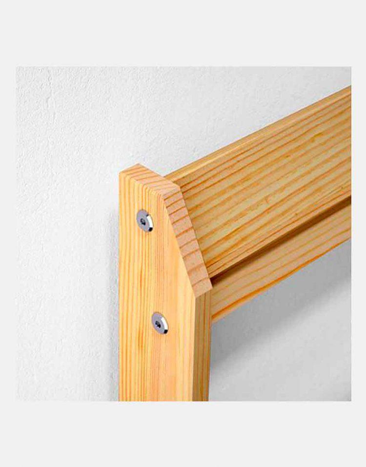 ikea model neiden wooden Simple bed 1 750x957 - تخت خواب ساده چوبی ایکیا مدل نیدن