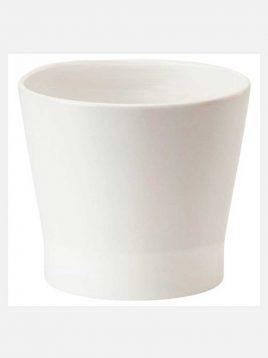 ikea model papaja ceramic vases 1 268x358 - جای گلدان سرامیکی سفید ایکیا مدل پاپاجا