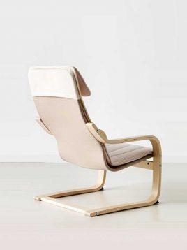 ikea model poang kids seating 1 268x358 - صندلی کودک ایکیا مدل پوآنگ
