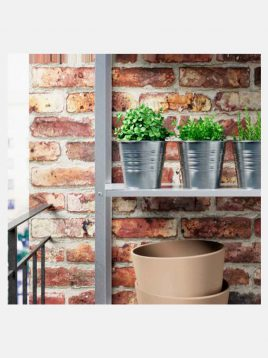ikea model sockerH12 metal vases 2 268x358 - جای گلدان فلزی سوکر H12 ایکیا