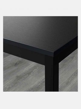 ikea model tarendo black 4persons table 1 268x358 - میز ۴ نفره مشکی ایکیا مدل تارندو