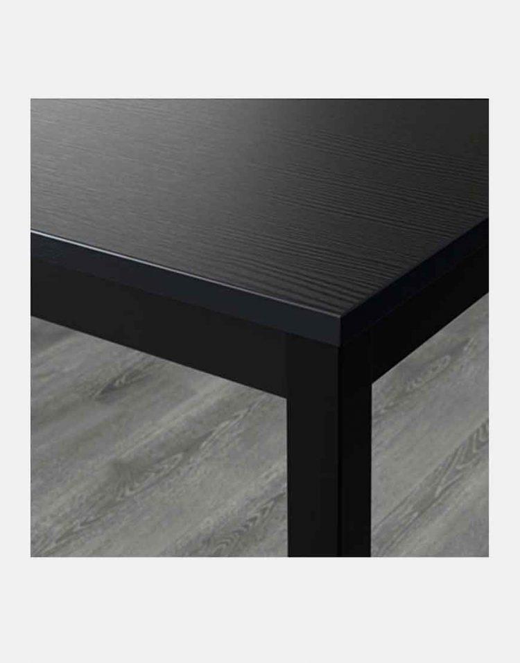 میز ۴ نفره مشکی ایکیا مدل تارندو