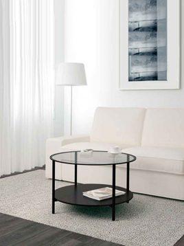 ikea twofloor round coffee tabels 1 268x358 - میز پذیرایی گرد دو طبقه ایکیا مدل VITTSJO