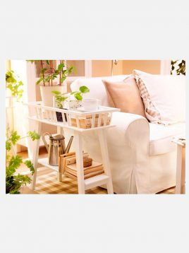 ikea wooden plant stands 1 268x358 - استند گلدان چوبی ایکیا