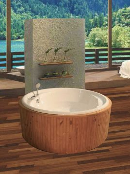persianstandard Bathtub Kenziya2 268x358 - وان مدل کنزیا