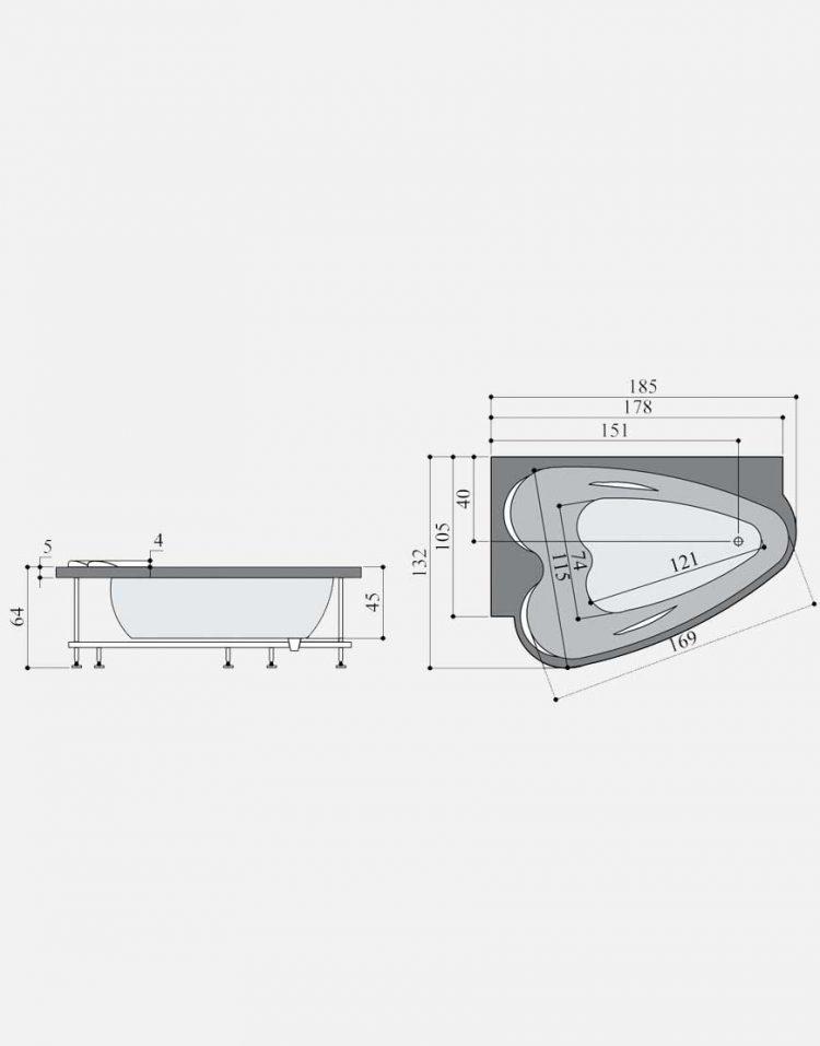 persianstandard Bathtub valriya4 750x957 - وان مدل والریا