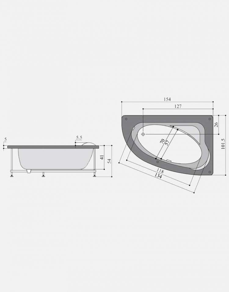 persianstandard Bathtub viktoriya3 750x957 - وان مدل ویکتوریا