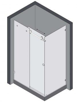 persianstandard Shower Bases Pans PZ FS2 268x358 - پارتیشن زمینی دوش مدل PZ-FS