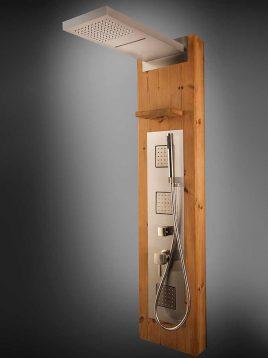 پانل دوش استیل و چوب پرشین استاندارد