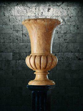 گلدان سنگی آژیانه کد دو
