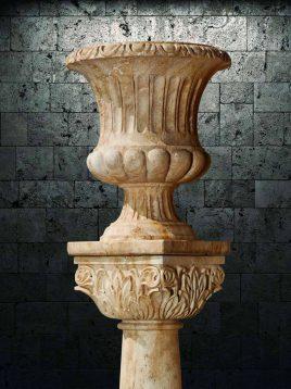 گلدان سنگی آژیانه کد یازده