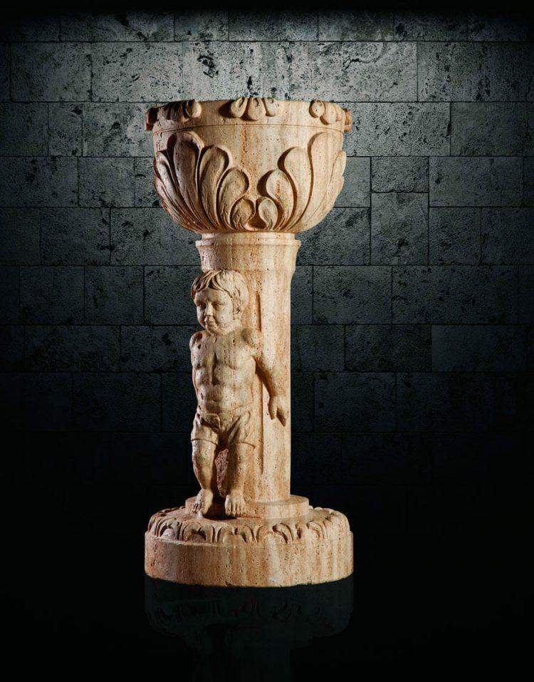 گلدان سنگی آژیانه کد پانزده
