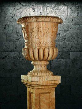 گلدان سنگی آژیانه کد سه