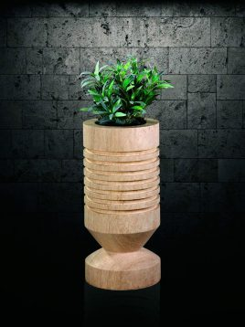 گلدان سنگی آژیانه کد هفده