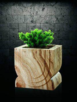 گلدان سنگی آژیانه کد هجده