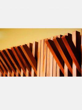 جالباسی دیواری شیک چوبی مدل W0205