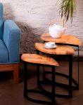 میز عسلی مدل W0077 سان هوم