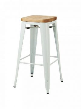 voodohome bar chair Vs66w 2 268x358 - صندلی اپن با کفی چوب وودوهوم