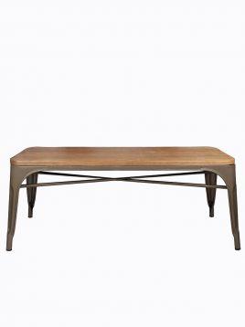 voodohome bench VC110W 2 268x358 - نیمکت فلزی کف چوبی وودوهوم