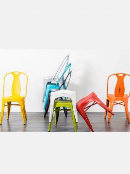 صندلی فلزی ناهارخوری تولیکسB