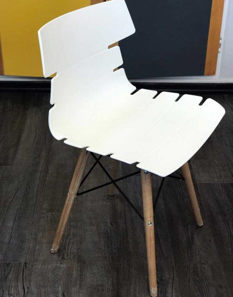 صندلی ناهارخوری پایه چوبی A