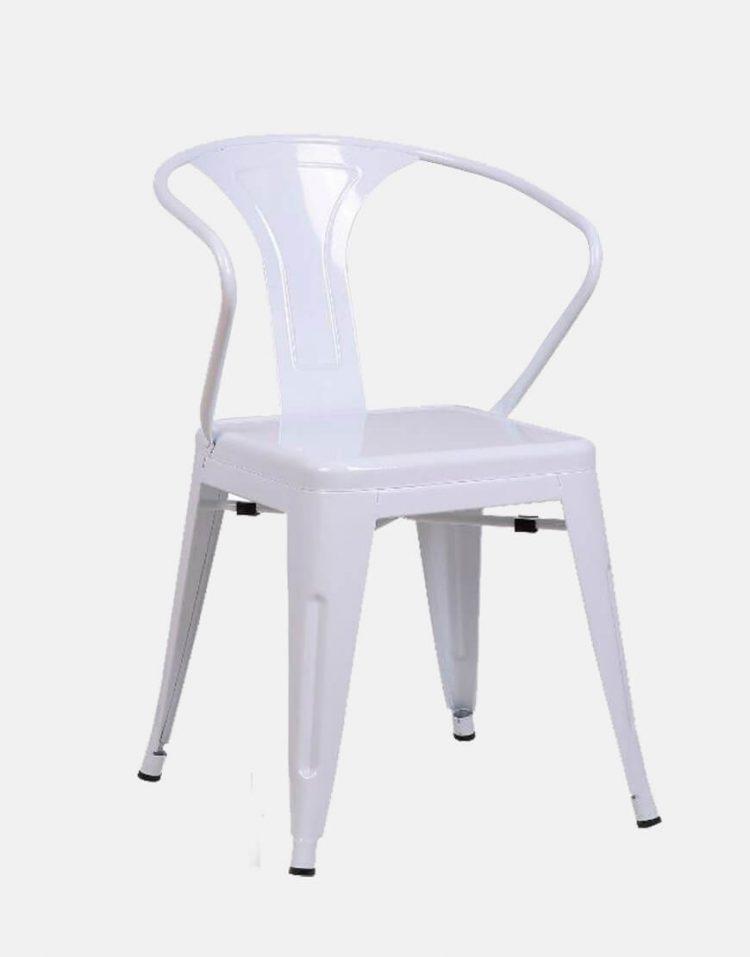صندلی فلزی دسته دار تولیکس