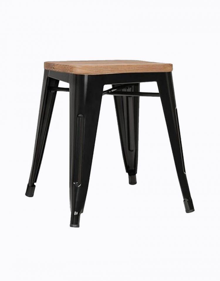چهار پایه فلزی کف چوبی