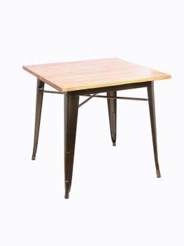 voodohome table VT30w 2 268x358 - میز چهار نفره با صفحه چوب وودوهوم