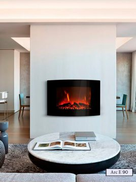 Electric-gas-fireplace-padideh-model-arc-E90-1